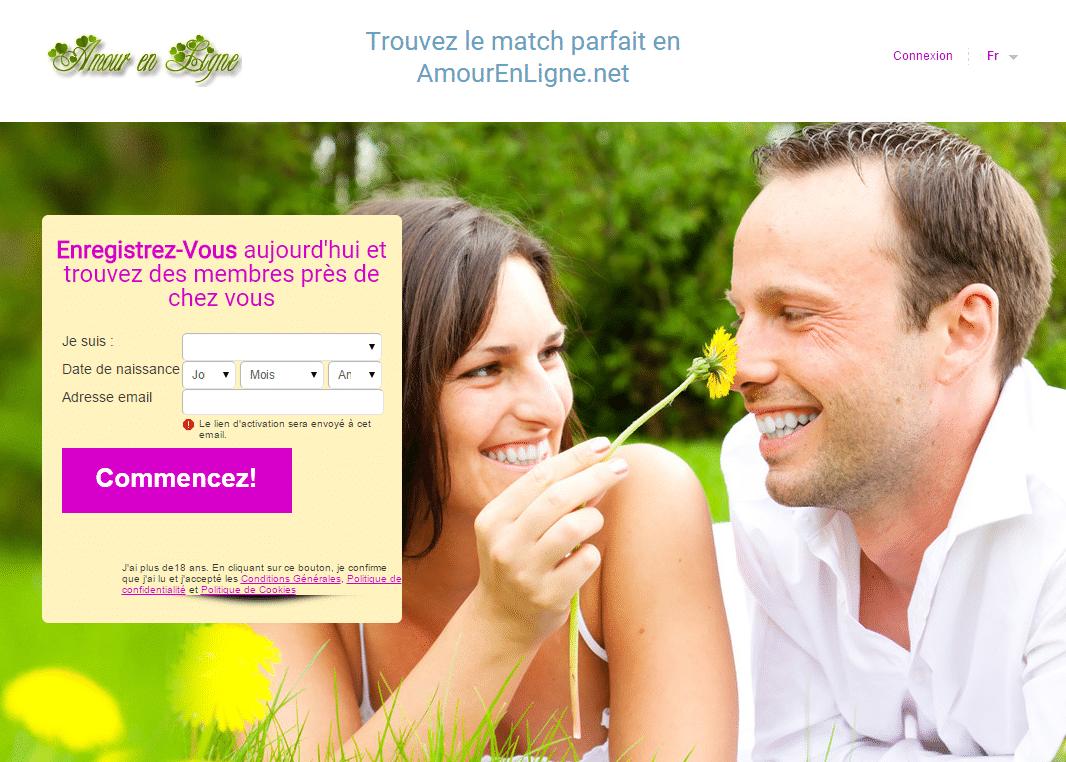 Site de rencontre amoureuse en ligne